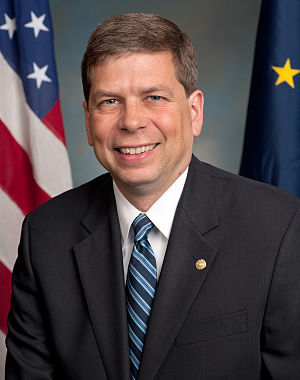 United States Senate election in Alaska, 2008 - Image: Mark Begich, official portrait, 112th Congress
