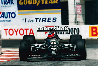 Grand Prix of Long Beach - Mark Smith driving in the 1993 race