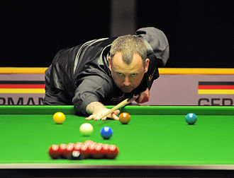Mark Williams (snooker player) - Mark Williams at the 2014 German Masters