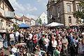 Marktplatz in Wendelstein beim Open Air Konzert von Max Mutzke.JPG