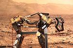 Mars-Roboter am VaMEx-Stand (27360316366).jpg