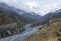 Marsyangdi river confluence.jpg
