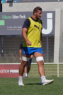 Martin Devergie French Rugby union footballer