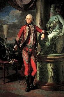 Nikolaus II. Fürst Esterházy (Ölgemälde von Martin Knoller, 1793) (Quelle: Wikimedia)