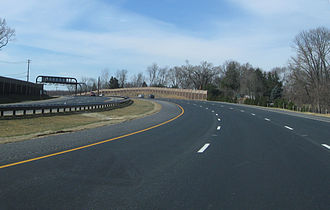 Maryland Route 200 - MD 200 westbound near mile marker 4.2