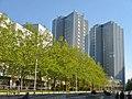 Marzahn - Hochhaeuser und Plattenbau (Skyscrapers and Flats) - geo.hlipp.de - 36608.jpg