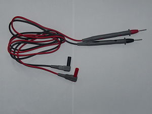 Test probe - A pair of simple test leads