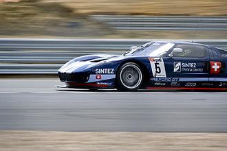 Matech Concepts - Matech's Ford GT1 driven by Romain Grosjean and Thomas Mutsch