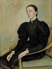 Portrait of Mathilda Wrede