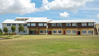 Rangitoto College - The maths building of Rangitoto College