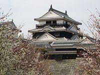 Matsuyama Castle Tower 2 (Iyo) JAPAN.JPG