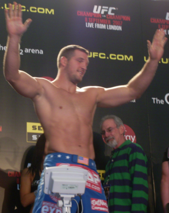 Matt Hamill - Hamill at the UFC 75 weigh ins before facing Michael Bisping.