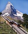 Matterhorn and Gornergratbahn.jpg