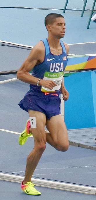 Athletics at the 2016 Summer Olympics – Men's 1500 metres - Image: Matthew Centrowitz Rio 2016