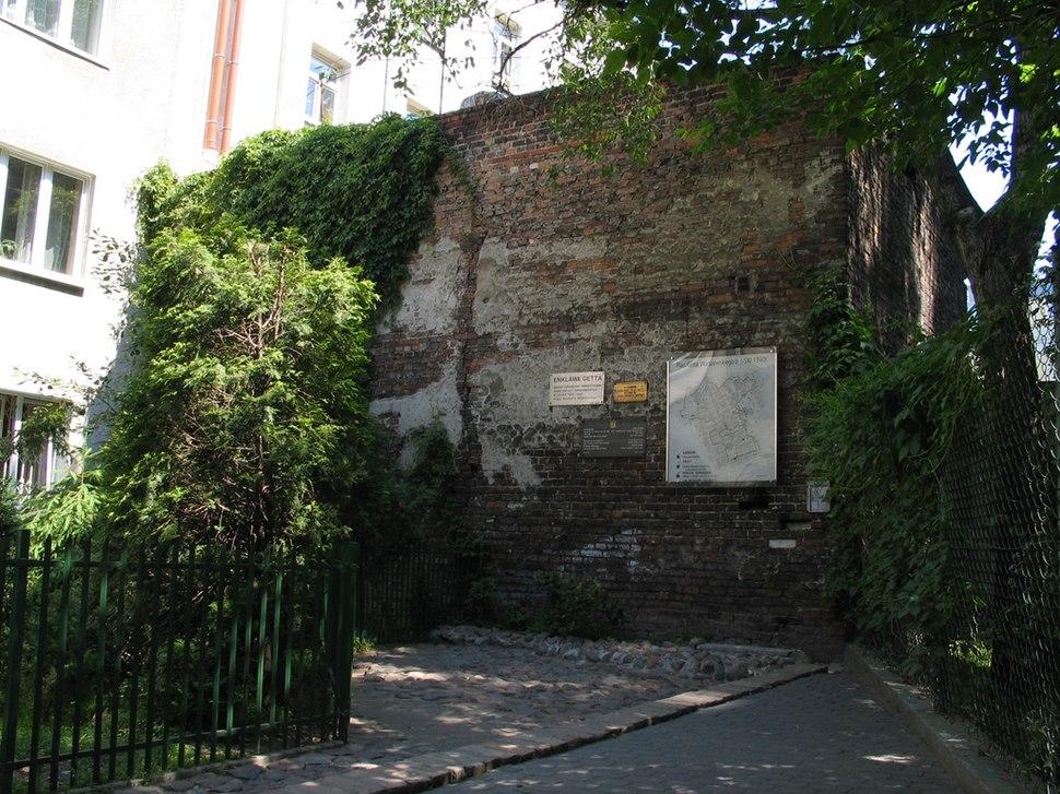 Mauer Warschauer Ghetto