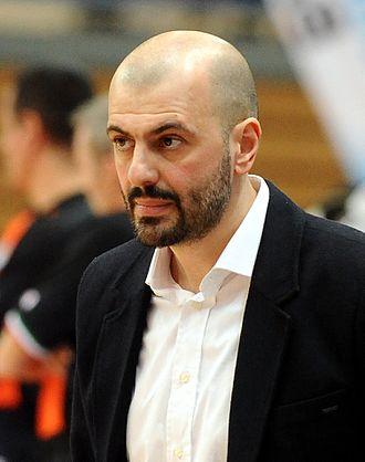 Maurizio Buscaglia - Image: Maurizio Buscaglia Aquila Basket Trento 2013