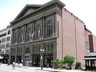 Elbridge Boyden - Mechanics Hall, Worcester, MA. 1855-57.