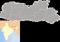 Meghalaya districts blank.png