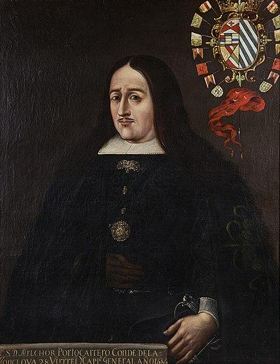 Retrato de Melchor Portocarrero Laso.