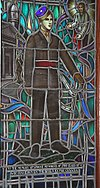 Memorial Stained Glass window, Class of 1942, Royal Military College of Canada