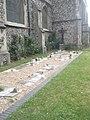 Memorial garden in St Mary's Churchyard - geograph.org.uk - 1378803.jpg