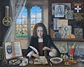 Memorial portrait of Robert Hooke for Christ Church Oxford.jpg