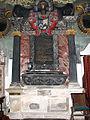 Memorial to Sir Thomas Cullum 1664 Hawstead Suffolk.jpg