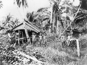 A Mentawai village.