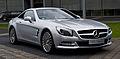 Mercedes-Benz SL 350 (R 231) – Frontansicht geschlossen, 22. Mai 2013, Düsseldorf.jpg