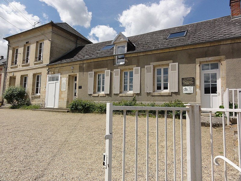 Merlieux-et-Fouquerolles (Aisne) mairie