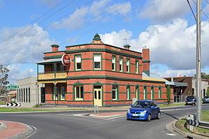 Mernda - Bridge Inn Hotel, built in 1891