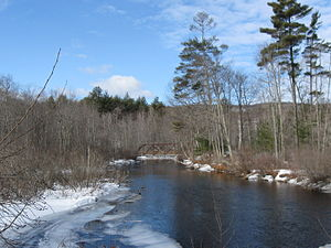 Merrymeeting River - The Merrymeeting River in Alton, New Hampshire