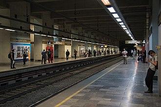 Metro Ermita - Line 12 platforms as of October 2018