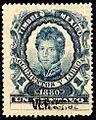 Mexico 1880 revenue F72 Veracruz.jpg