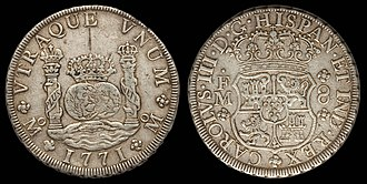 1804 dollar - The Spanish milled dollar was declared legal tender in the United States in 1793.