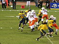 Miami on offense at 2008 Emerald Bowl 12.JPG