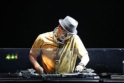 Fotografia di Mix Master Mike