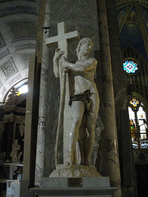 Michelangelo's Christ the Redeemer in the Basi...