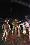 Midnight reaping, CLR-2 wreckers complete on-the-spot recovery 130726-M-ZB219-220.jpg