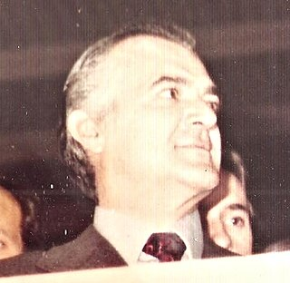 Miguel de la Madrid President of Mexico (1982–1988)