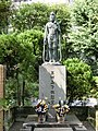Mikawashima Train Crash cenotaph.JPG