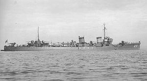 Japanese destroyer Mikazuki (1926)