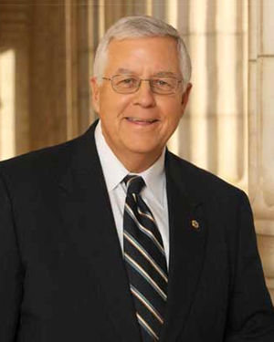 United States Senate election in Wyoming, 2002 - Image: Mike Enzi official portrait new