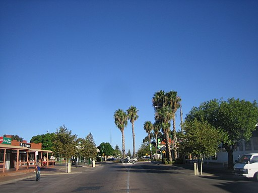 Mildura, la grand rue