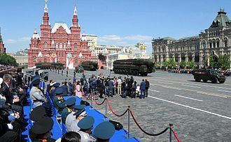 2016 Moscow Victory Day Parade - RS-24 Yars and GAZ Tiger