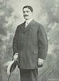 Mimon Anahory, Emprezario do theatro de S. Carlos - Brasil-Portugal (16Jul1908).png