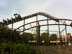 Attractiepark Slagharen - Mine Train.