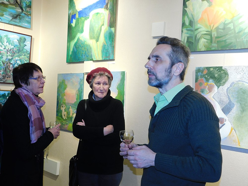 Minima gallery opening (Green collisions; 2018-12-01) 16.jpg