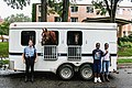 Minneapolis Mounted Police Unit in Phillips West, Neighborhood Night Out (18062445389).jpg
