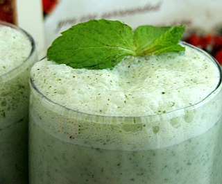 Chaas Yoghurt based drink from South Asia